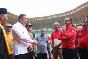 Cek Kesiapan Kota Bekasi Gelar World Cup 2021, PSSI Sidak Stadion Patriot Candrabraga (bekasikota.go.id)