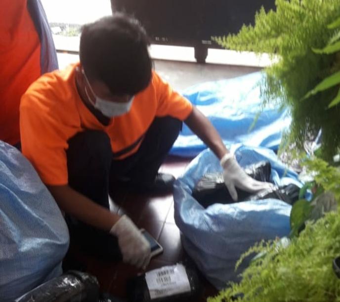 Pandemi COVID 19, Perusahaan Logistik di Indonesia Terapkan Protokol Pencegahan COVID 19 (Foto : Pribadi)