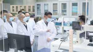Hentikan Wabah Covid 19, Presiden China Xi Jinping Kebut Penyelesaian Vaksin Covid 19. (CGTN.com)