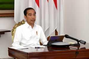 Perang Lawan COVID 19, Presiden Jokowi Akan Terapkan Darurat Sipil di Indonesia (gambar:youtube sekretariat presiden)