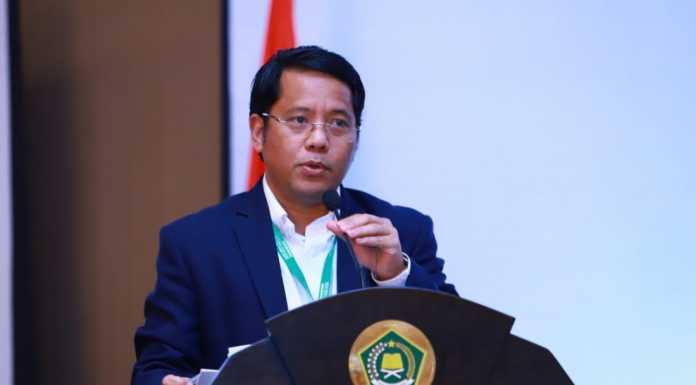 Perang Lawan COVID 19, Kementerian Agama Gelar Sidang Isbat Awal Ramadhan Via Video Konferensi (Foto : Kementerian Agama RI)