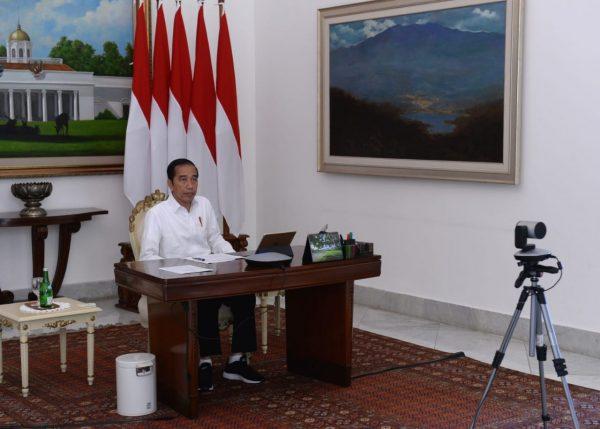 Perang Lawan COVID 19,Presiden Jokowi Perintahkan Pemda Patuhi PP PSBB (covid19.go.id)